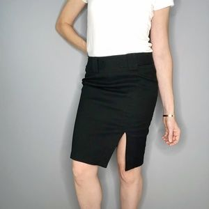Nanette Lepore Pencil Skirt With Front Slit